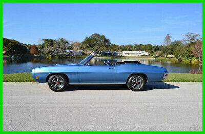 1970 Pontiac GTO factory rated at 350 horsepower 1970 Pontiac GTO Convertible Vin number matching YS code 400 V8