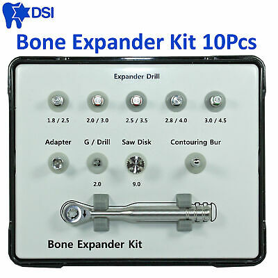 DSI Dental Implant Surgical Bone Expander Drill Narrow Ridge Split Tool Wide