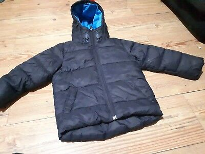 9feb1e206 NEXT BOYS NAVY Padded Winter Jacket Age 4-5 Years - £2.99
