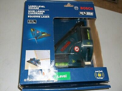 Bosch gtl2 laser level square accuracy vertical & Horizontal