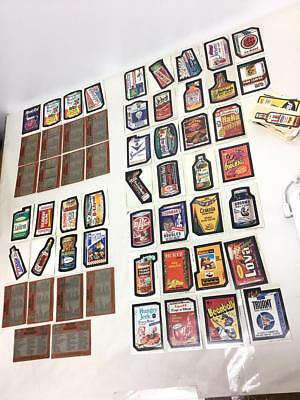 Vintage Wacky Packages Cards - Large Lot, Some 1St & 2Nd Series