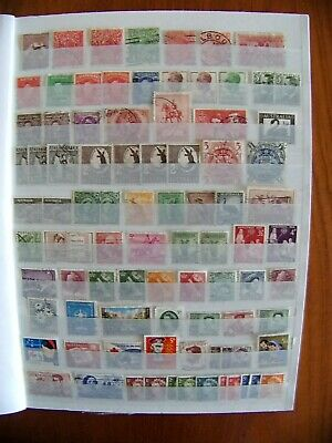 collection of Br Commonwealth  stamps in album, approx 900 , 20 plus countries.