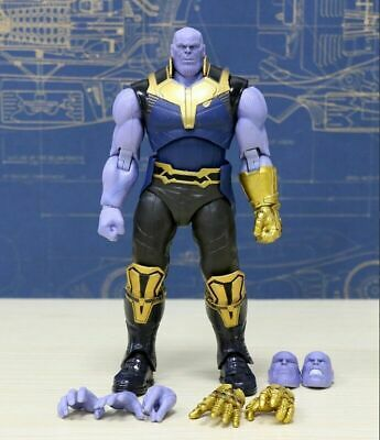 SHF S.H.Figuarts Avengers Infinity War Thanos 16cm PVC Action Figure New In Box