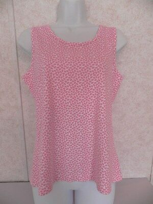 83693db9e1aa64 WOMENS  LANDS  END Pink Tank Top Size Small (6-8) -  6.00