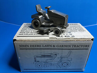"""JOHN DEERE PEWTER Historic Collection """"AR"""" Tractor JDM-019 SpecCast"""