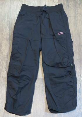 C9 by Champion Black Jogger Pants Ruched Bottoms Girls Size XS (4/5) Great Condi