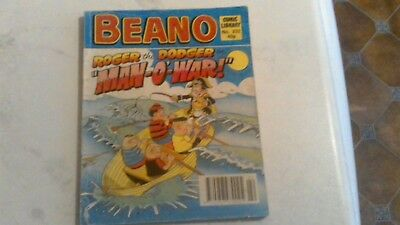 BEANO COMIC LIBRARY 232 Roger the Dodger in Man-o-War manowar 1991 dandy topper