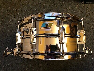"LUDWIG LM411 Supraphonic Supersensitive 14""x6,5"" B&O Badge"