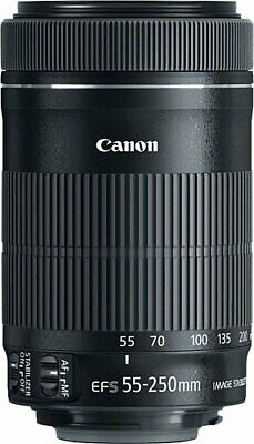 Canon - EF-S 55-250mm f/4-5.6 IS STM Telephoto Zoom Lens Brand New Box Damage