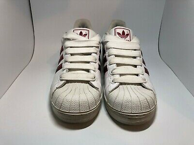 bfdecf3c0474 Adidas Superstar trainers size uk 9 leather shelltoe mens good condition  2009