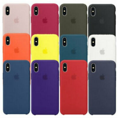 CUSTODIA COVER ORIGINALE Per Apple IPHONE XR SILICONE CASE Protezione