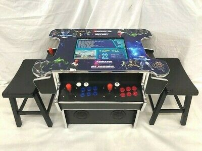 3 SIDE Arcade Cocktail  1162 Game in 1-TRACK BALL  Machine - FREE SHIPPING