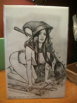 Grimm Fairy Tales #21D Jay Company Exclusive Sketch Variant w/COA Ltd 100 VF/NM