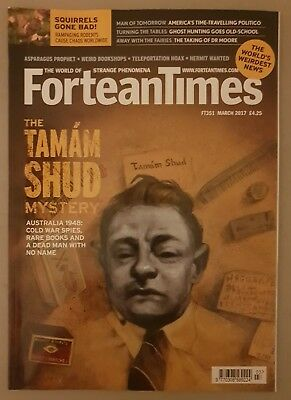 Fortean Times FT351 March 2017 - The Taman Shud Mystery