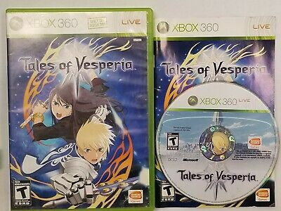 Tales of Vesperia for Microsoft Xbox 360 *RARE*