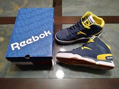 Reebok Classic Jam - Navy yellow white - Size 10 Us - Excellent Condition a08f70222e