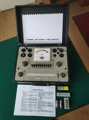 Knight 600 Series Tube / Valve Tester -