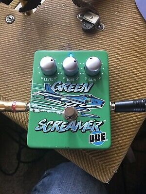 BBE Green Screamer Tube Overdrive Guitar Pedal Ibanez 808 Clone