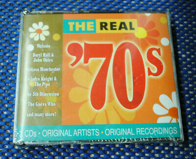The Real 70s 3 CD Set Featuring Melanie, Hall & Oats, 5th Dimension, Guess Who