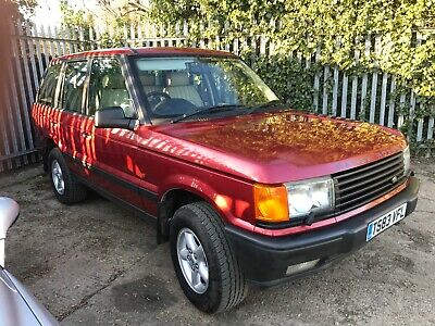Range Rover P38 4.6 HSE, Roika Red, Full Cream Leather.