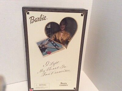 I Left My Heart in San Francisco Barbie Special Edition See's Candies