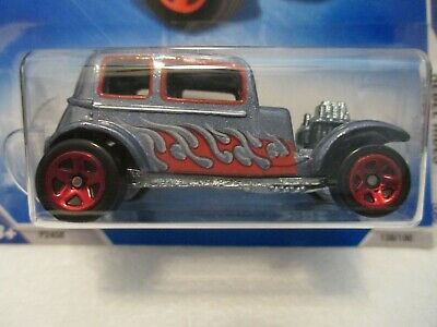 Hot Wheels '32 Ford Vicky Rebel Rides 09 Mint In Blister