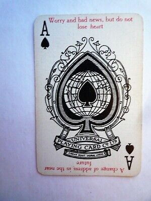 playing cards vintage Romany Fortune Telling