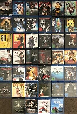 JOHN WICK Blu Ray, KILL BILL, SUPERMAN, BATMAN, MAD MAX, KING KONG, PREDATOR, IT