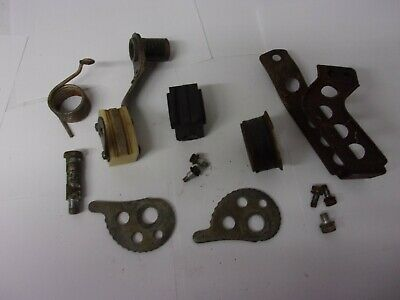 Yamaha DT125 DT175 CHAIN GUIDES CHAIN SLIDES CHAIN ADJUSTERS + HARDWARE