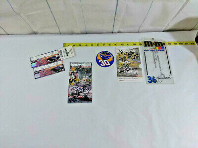 Great Talladega April 2002 Nascar Race Ticket Ephemera Lot ~ Ships FREE