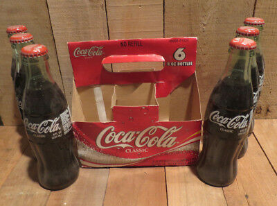 2003 Coca-Cola Coke Bottles Set of 6 Unopened 100th Anniversary Indiana