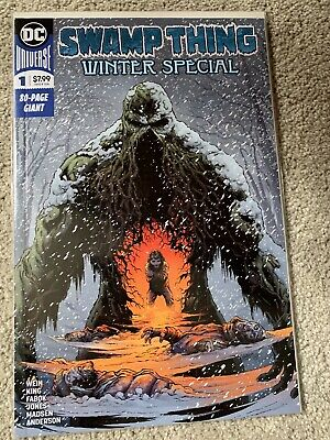 Swamp Thing Winter Special # 1 First Print NM Tom King Jason Fabok Len Wein
