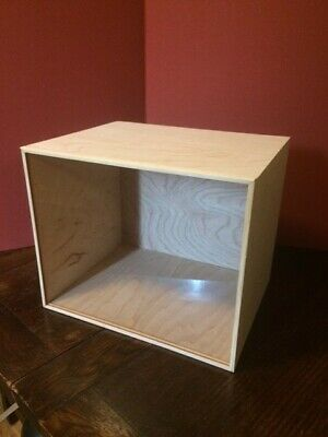 Miniature Dollhouse Room Box for 1:12 scale With plexiglass front. Unfinished.