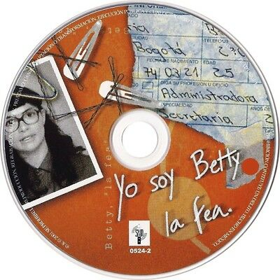 Yo Soy Betty La Fea, Serie-Colombiana, 32 Dvd, 169 Capitulos, 1999