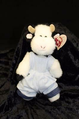 Ty Beanie Baby Attic Treasures Collection jointed cow bull - 1993