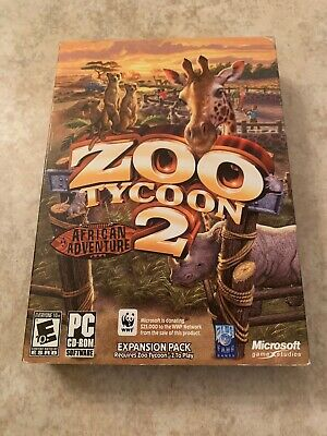 ZOO TYCOON 2 African Adventure Expansion