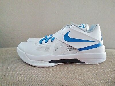 sale retailer 5b2b6 e2fb2 New DS Nike Zoom KD Kevin Durant IV 4 CT16 QS White Blue men sz 7.5