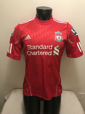 09f206fab0cb Liverpool FC  9 Torres Adidas Clima Cool Soccer Jersey Mens size Small