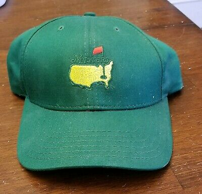 9d6ef0fa7ff MASTERS (GREEN) Golf HAT Adjustable from AUGUSTA NATIONAL New With Tags