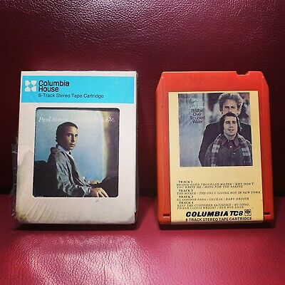 8 Track Paul Simon Art Garfunkel Bridge Over Troubled Water Great Hits Watermark