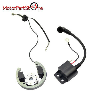 Stator Rotor Ignition Coil Stator Flywheel Set For KTM50 SX Adventure Motorcycle