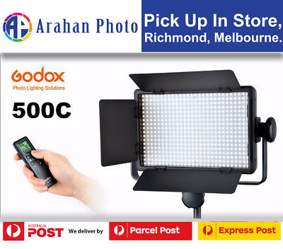 Godox LED  Light 500C Color Changeable Lighting w/ Remote(AU stock/1yr warranty)