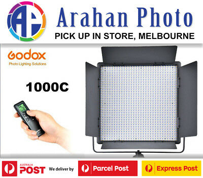 Godox LED 1000C Color Changeable LED Lighting w/ Remote(AU stock/1yr warranty)