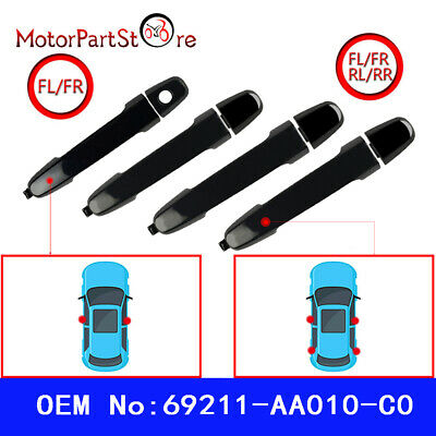 Outside Outer Exterior Door Handle For Toyota Front & Rear 69211AA010C0