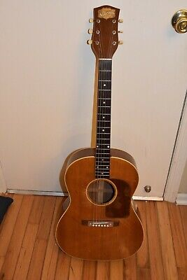 Extremely Rare National Gibson 1160/lg3 Guitar, Circa 1950, Hard Case, No Res