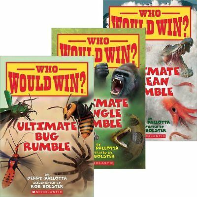NEW Who Would Win? Ultimate Rumble 3-Pack: Ocean, Bug, & Jungle by Pallotta