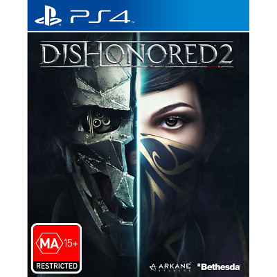 Dishonored 2 - Playstation 4 (PS4) Brand New Sealed