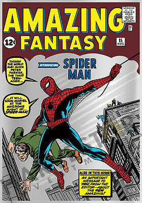 2018 Marvel Comics - Amazing Fantasy #15 - Silver Foil 1 Oz. - First In Series