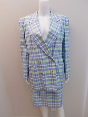 Vintage Escada Designer Skirt/jacket Suit As New Size 42=10/12  (#1587)