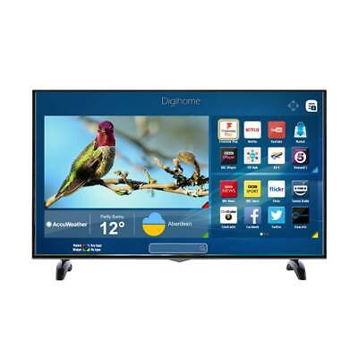 Digihome 65UHDHDR 65 Inch 4K Ultra HD HDR LED Smart TV in Black with 3x HDMI